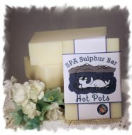 No Fragrance _ Hot Pots SPA Sulphur Soap