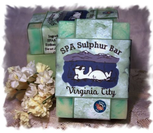 Coconut Lime Verbena Virginia City SPA Sulphur Soap