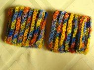 100% PNF Cashmere wrist cuffs