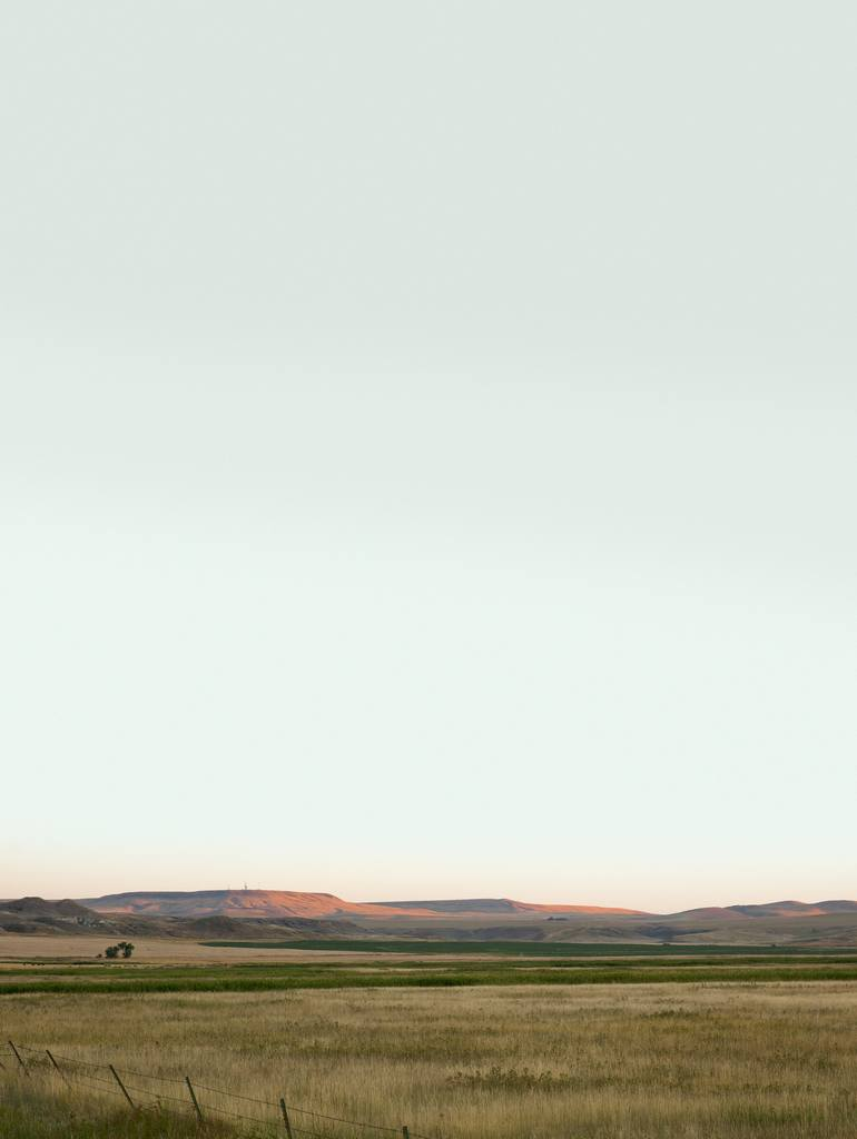 Original Landscape Photography by Matthew O'shea | Abstract Art on Paper | Montana Hills- Limited Edition of 25 (other sizes available)